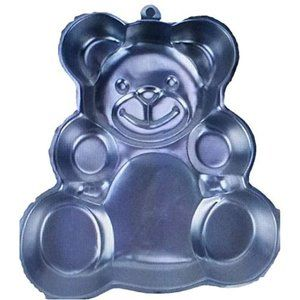 New Wilton Huggable Teddy Bear Pan w instructions